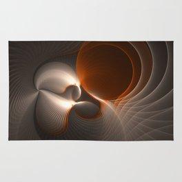 New Life,Modern Abstract Fractal Art Fantasy Rug