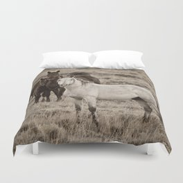 Cautious Duvet Cover