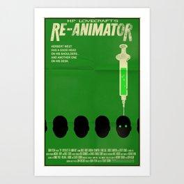Re-Animator Art Print