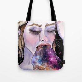 Galactic Word Vomit Tote Bag