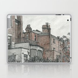 Backyard sketch Laptop & iPad Skin