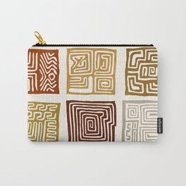 African Ceremonial Pattern Carry-All Pouch
