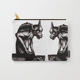 Black Gargoyle Carry-All Pouch