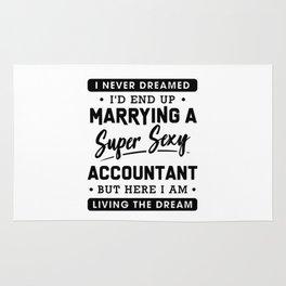 Funny Accountant Shirt Rug