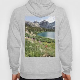 Sierra Alpine Wildflowers Hoody