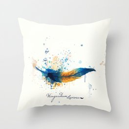 Wingardium Leviosa Throw Pillow
