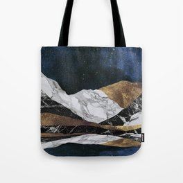 Marble Mountain Landscape Tote Bag