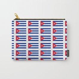 Flag of Cuba 2 -cuban,havana, guevara,che,castro,tropical,central america,spanish,latine Carry-All Pouch