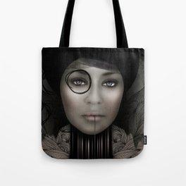 DIGITAL PORTRAIT Tote Bag