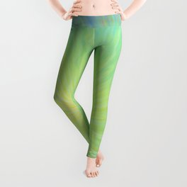 Radiance in Greens Leggings