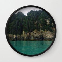 Alaskan Ocean Wall Clock
