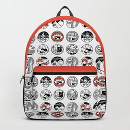 top pattern Backpack