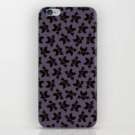 Vampire bats pattern iPhone Skin