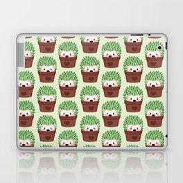 Hedgehogs disguised as cactuses Laptop & iPad Skin