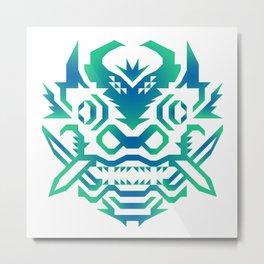 Dragon Diablo Metal Print