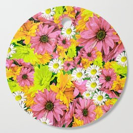 Daisy Glow Cutting Board