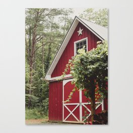 Red Barn 3 Canvas Print