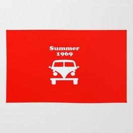 Summer 1969 - red Rug