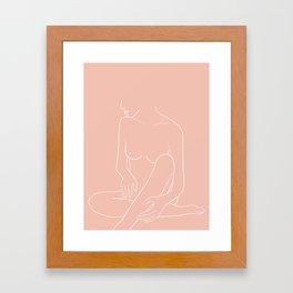 embrasser Framed Art Print