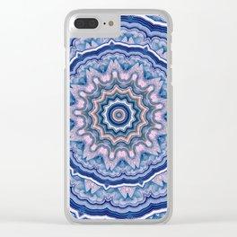 Agate Mandala Clear iPhone Case