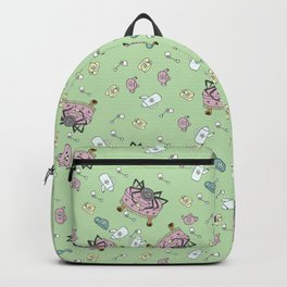 Teatime Spider - Green Backpack