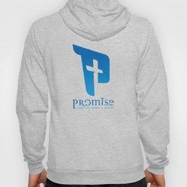blue promise logo Hoody