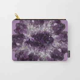 Amethyst Asteroid Carry-All Pouch