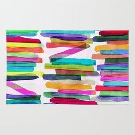 Colorful Stripes 5 Rug