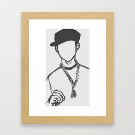 03 Jay Framed Art Print