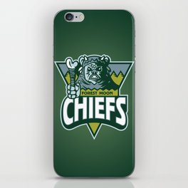 Forest Moon Chiefs - Green iPhone Skin