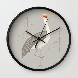 Brolga, Bird of Australia Wall Clock