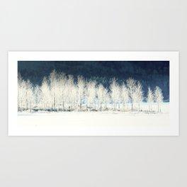An Oregon Winterland Art Print