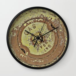 Cooking with Gas Wall Clock