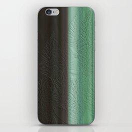 Green Leaf Overlay iPhone Skin