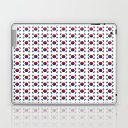 flag of south korea-korea,asia, 서울특별시,부산광역시, 한국,seoul Laptop & iPad Skin