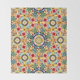 Nouveau Chinoiserie Throw Blanket