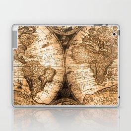 World Map Antique Vintage Maps Laptop & iPad Skin
