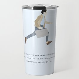 Walter Mitty, Ben Stiller, Major Tom, Print Travel Mug