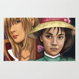 Sophie and Hauru Rug