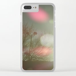 Color Balls Clear iPhone Case