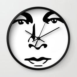 Silent Stars - Rudolph Valentino Wall Clock