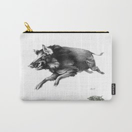 Running Boar Carry-All Pouch