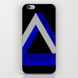 Impossible Triangle iPhone Skin