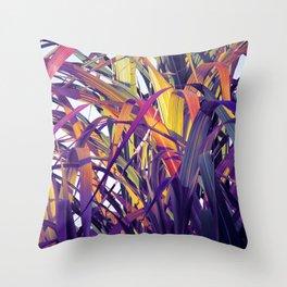 Bight Colorful Bamboo Throw Pillow