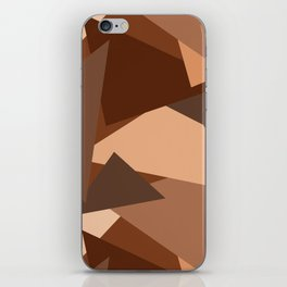 Chocolate Caramels Triangles iPhone Skin