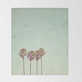 California Dreams Throw Blanket