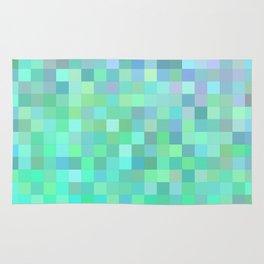 Square mosaic tiles Rug