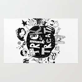 For Halloween - Trick or treat Rug
