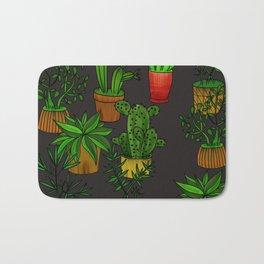 Plants and vases Bath Mat