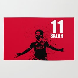 SPORTS ART #SALAH THE KING on red Rug